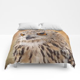 Eagle Owl Comforters