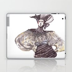 Fashion sketches in mixed technique Laptop & iPad Skin