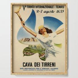 Affiche cava dei tirreni. 1955  Serving Tray
