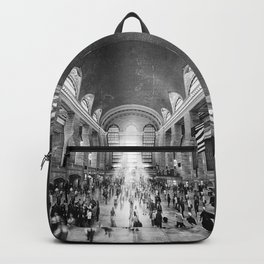 Grand Central Daylight (classic black & white edition) Backpack