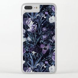 EXOTIC GARDEN - NIGHT XII Clear iPhone Case