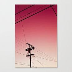 Red Dawn Canvas Print