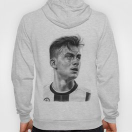 Paulo Dybala Pencil Drawing Hoody