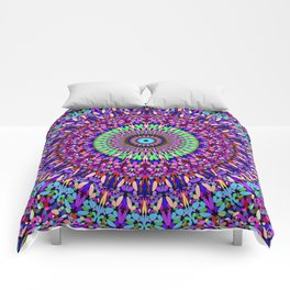 Pretty Gravel Mandala Comforters