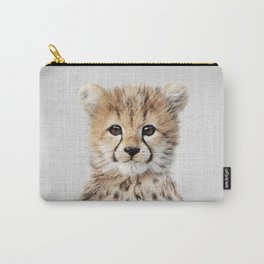 Baby Cheetah - Colorful Carry-All Pouch