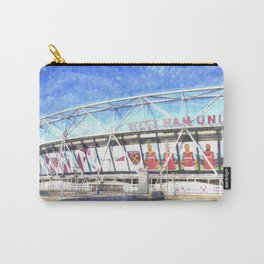 West Ham Olympic Stadium London Art Carry-All Pouch