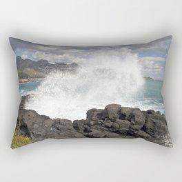 WAVES BEACH - SICILY Rectangular Pillow