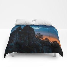 Love rocks Comforters