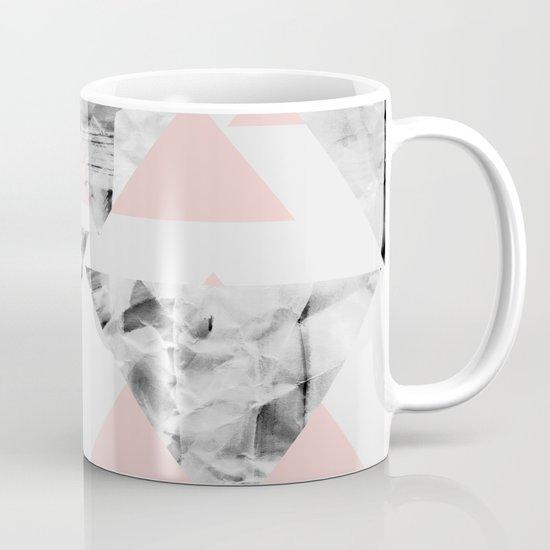 Pink Triangles Mug