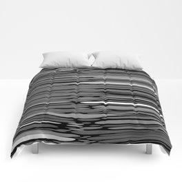 ASH - grey & black variegation Comforters