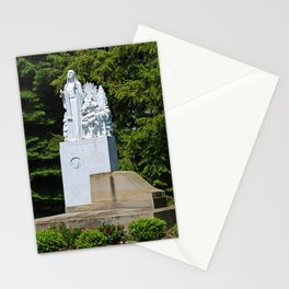 Lourdes University- Our Lady of Sylvania in the Spring (horizontal) Stationery Cards