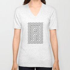Typoptical Illusion A no.2 Unisex V-Neck