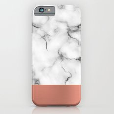 Marble & copper Slim Case iPhone 6s
