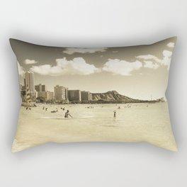 Waikiki Honolulu Oahu Hawaii Rectangular Pillow