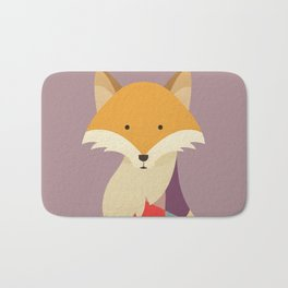Red Fox Bath Mat