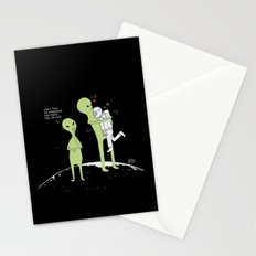 Don't talk to strangers, You might fall in love! Stationery Cards