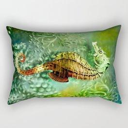 Seahorse Tropical Ocean Life Rectangular Pillow
