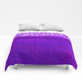 Violet Crystalline Comforters