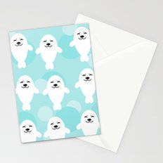 Seal pattern draw Stationery Cards