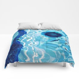 Blue Rivers Comforters