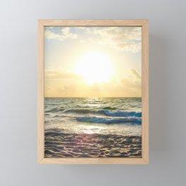 Cloudy Morning In The Sunshine State (VIII) Framed Mini Art Print