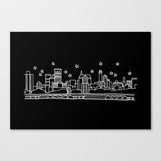 Brooklyn, New York City Skyline Canvas Print