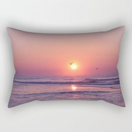 Southern Sunrise Rectangular Pillow