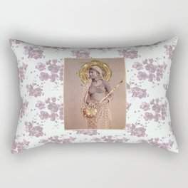 Woman from Bengal Rectangular Pillow