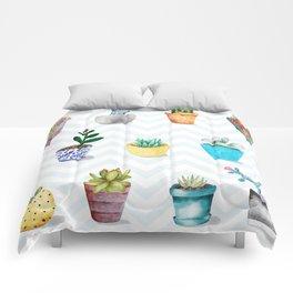FLOWER POTS Comforters