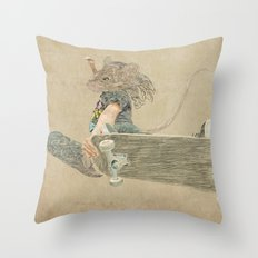 skate rat  Throw Pillow