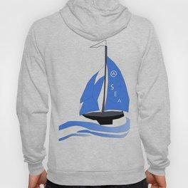 Ship at Sea Hoody
