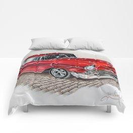 57 Chevy Comforters