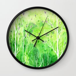 Beautiful Forest Wall Clock