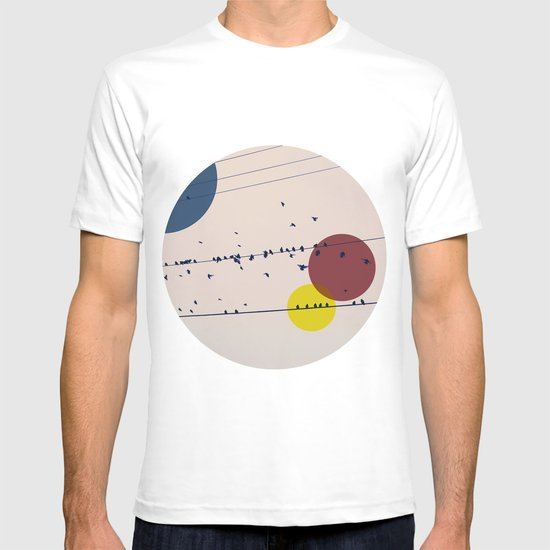 Chaos On The Wires T-shirt