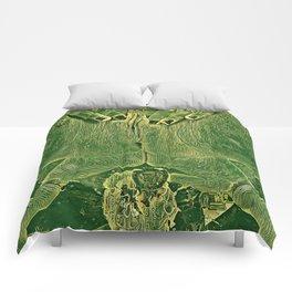 9978s-KD Self Love Explicit Naked Motherboard Fine Art Nude Creative Tech Comforters