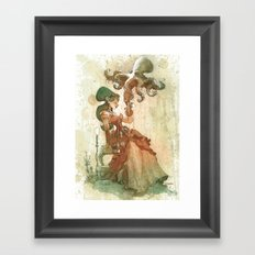 Afternoon Shade Framed Art Print