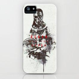 Baumgartner's descent iPhone Case