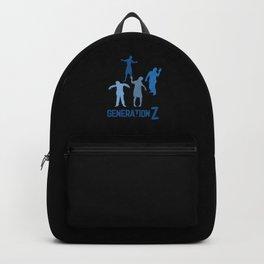 Generation Z Zombie Gen Z Millenials Gift Backpack