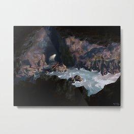 Sea Lion Caves, Oregon Metal Print