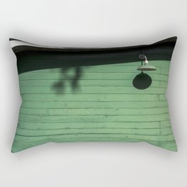 Green Wall Rectangular Pillow