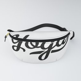 yoga word Fanny Pack