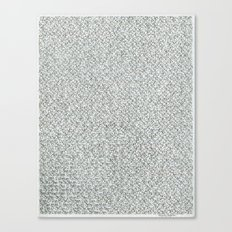 2,173 Pugs on Graph Paper Canvas Print