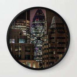 London, 30 St Mary Axe Wall Clock