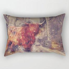Sightseeing Cattle Rectangular Pillow