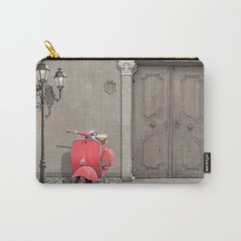 Nostalgia pink scooter Carry-All Pouch