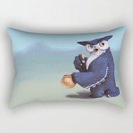 Monster of the week: Tufted Owl Beast Rectangular Pillow