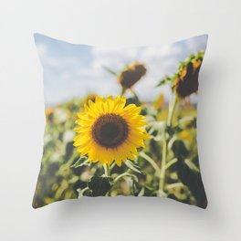 Allora | Sunflowers Throw Pillow