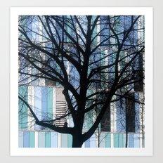 tree (Munich) Art Print
