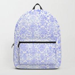 Periwinkle Damask Backpack