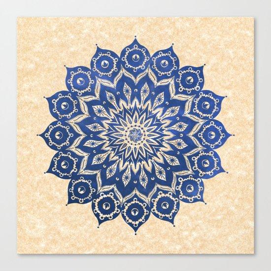 ókshirahm sky mandala Canvas Print